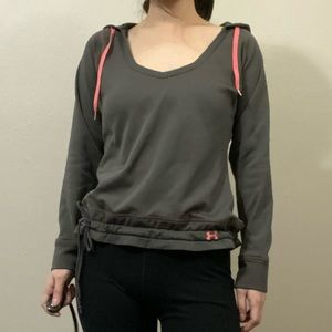 Under Armour womens scoop neck hoodie